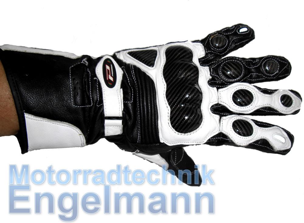 motorrad leder handschuhe progrip pg4016 gr e l. Black Bedroom Furniture Sets. Home Design Ideas