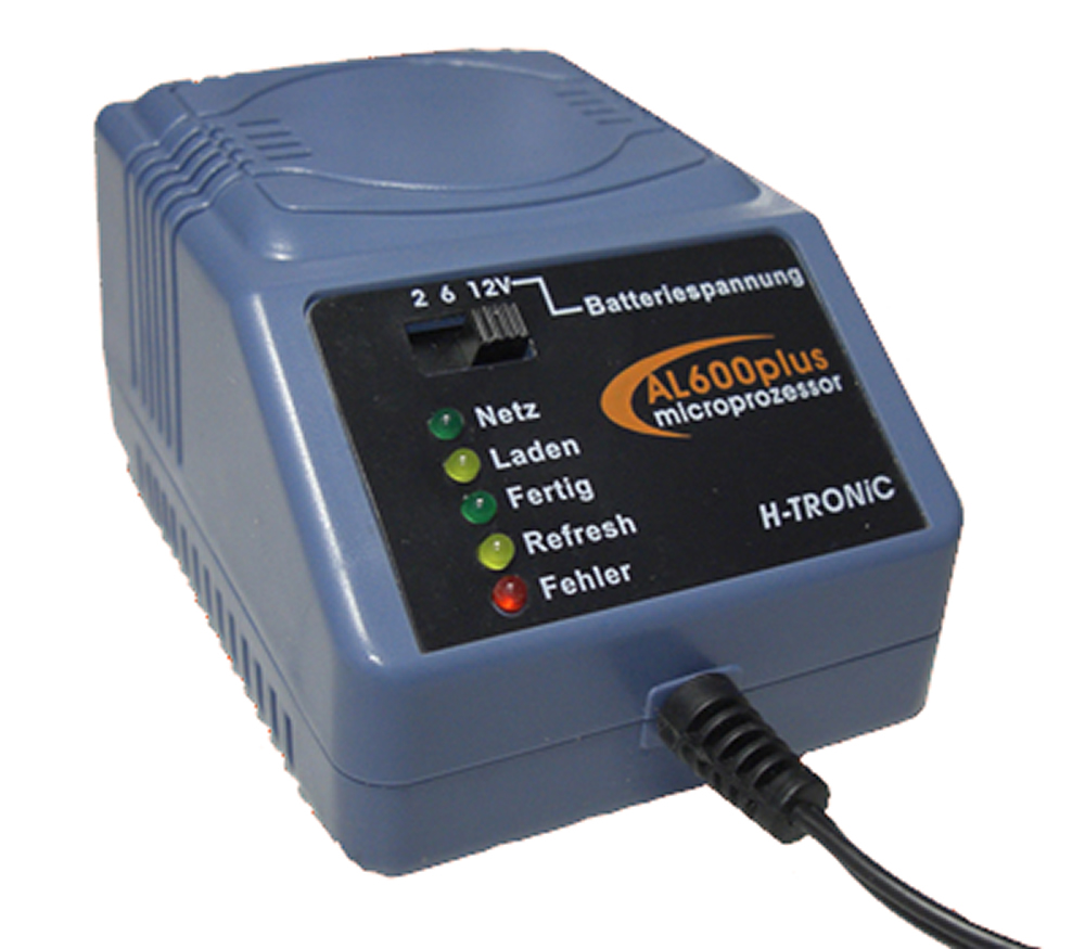 AL 600 plus Ladeger/ät f/ür 2-6-12V Batterien
