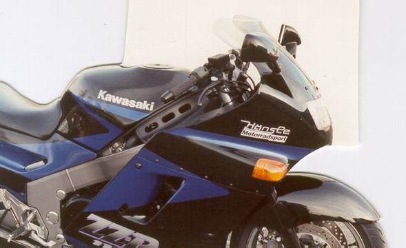 Scheibe MRA-Tourenscheibe Kawasaki ZZR 1100 rauchgrau 93-